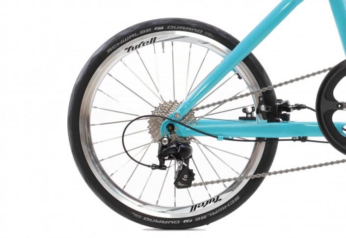 Tyrell Bike FX Schaltung