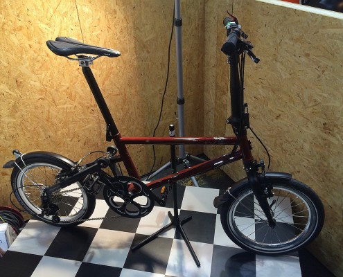 Tyrell Bike IVE auf der Fahrradschau Berlin