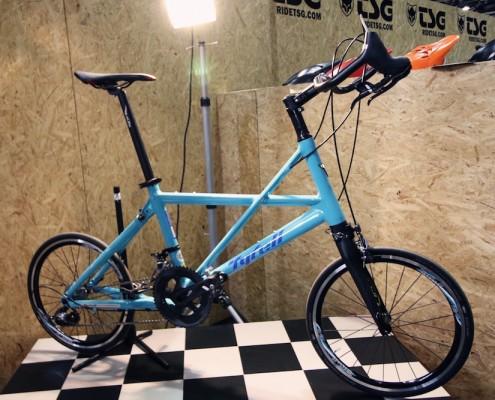 Tyrell Bike mit dem FSX auf der Fahrradschau Berlin
