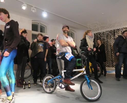 Tyrell Bike auf der Fahrradschau Berlin
