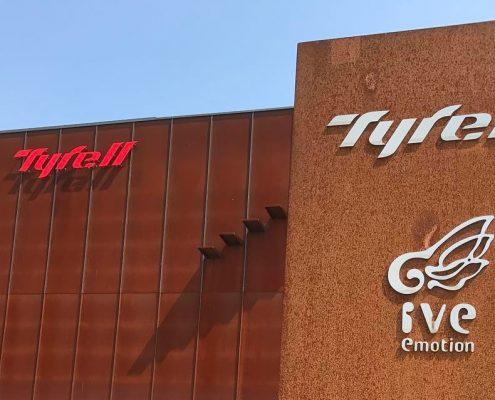 Tyrell Factory Visit Folding Bikes Tyrell IVE FX FSX