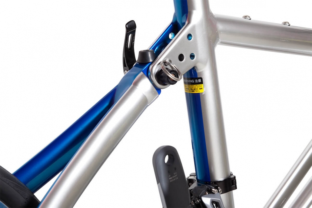 Tyrell Bike Deutschland FX Blue Edition Limited Detail